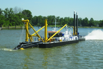 Dredging market - anchors, chains, towing equipment online