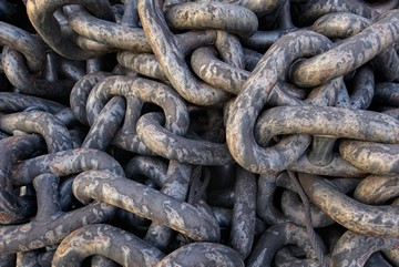 On stock anchors and chains for your vessel: AKF anchor and
