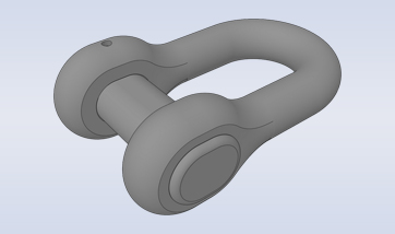 Accessories-D-Type Anchor Shackle